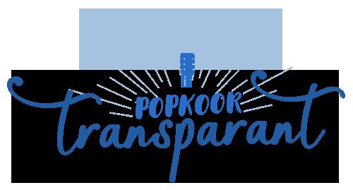 Popkoor Transparant
